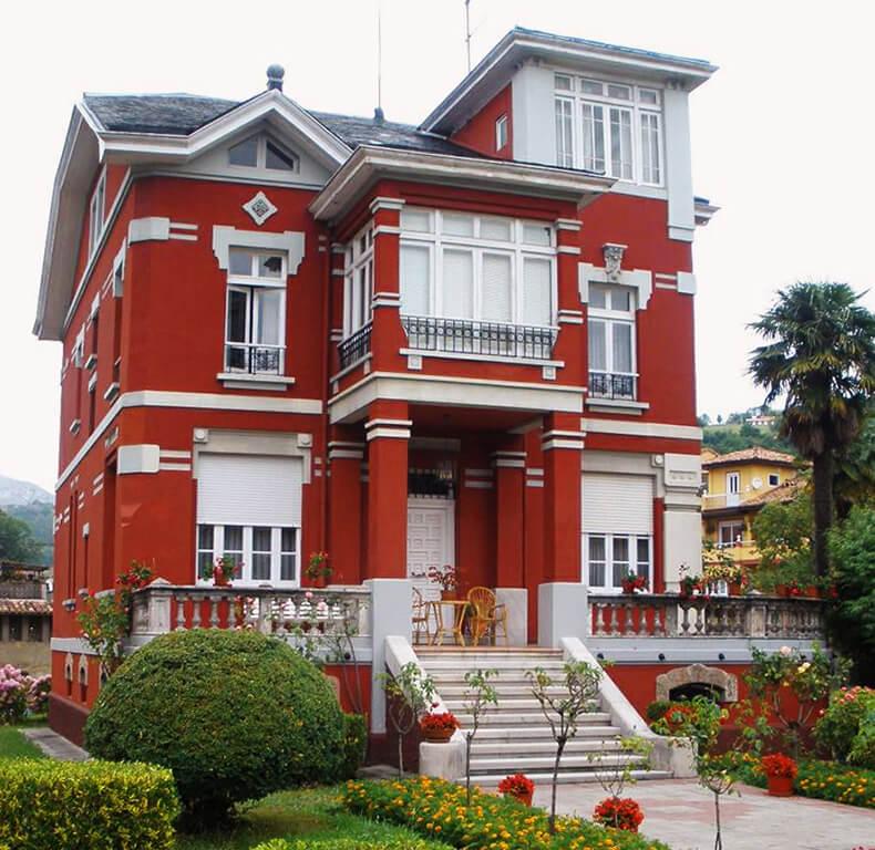 arriondas casas indianas Villa Juanita