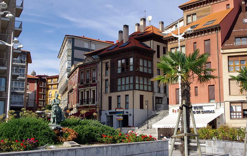 Candás Asturias plaza