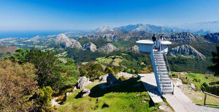 mirador del fitu en Asturias