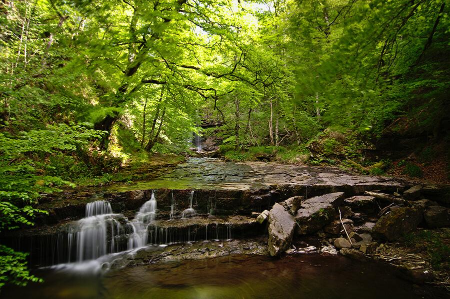 ´qué ver en Bárcena Mayor Cantabria Parque Natural del Saja Besaya