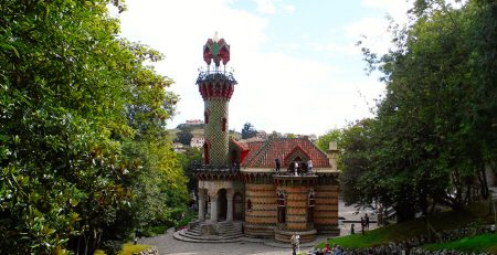 el Capricho de Gaudí Comillas Cantabria