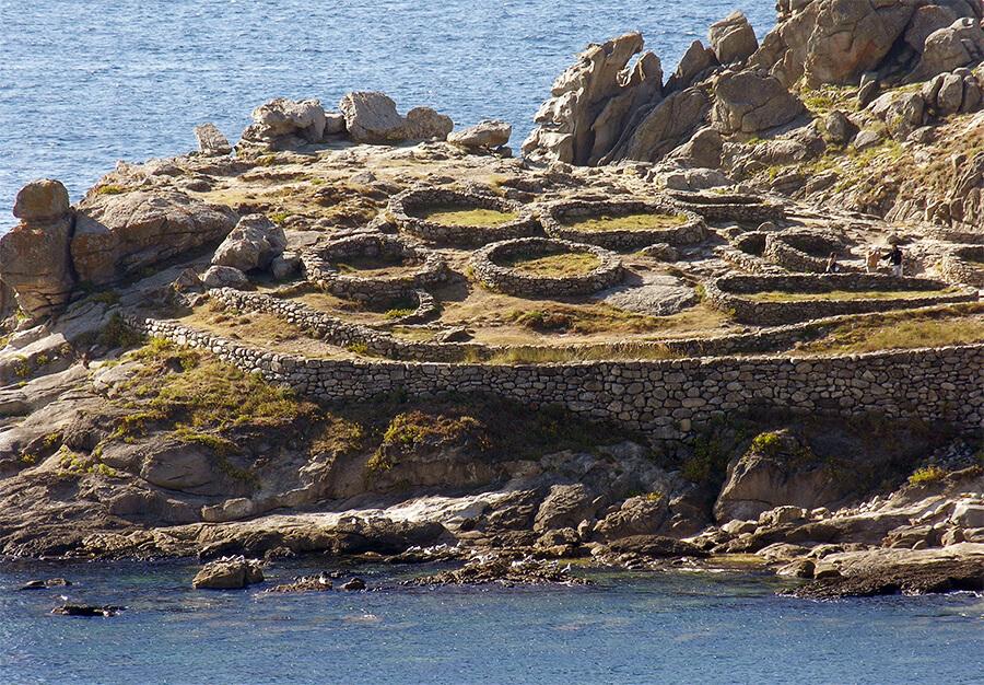 castro de Baroña Porto do Son A Coruña