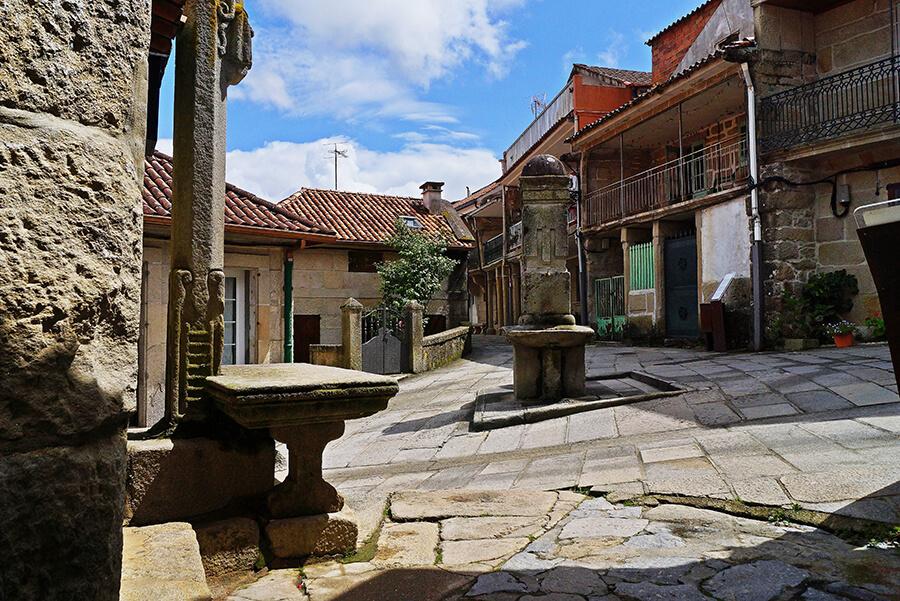 Combarro Pontevedra calles