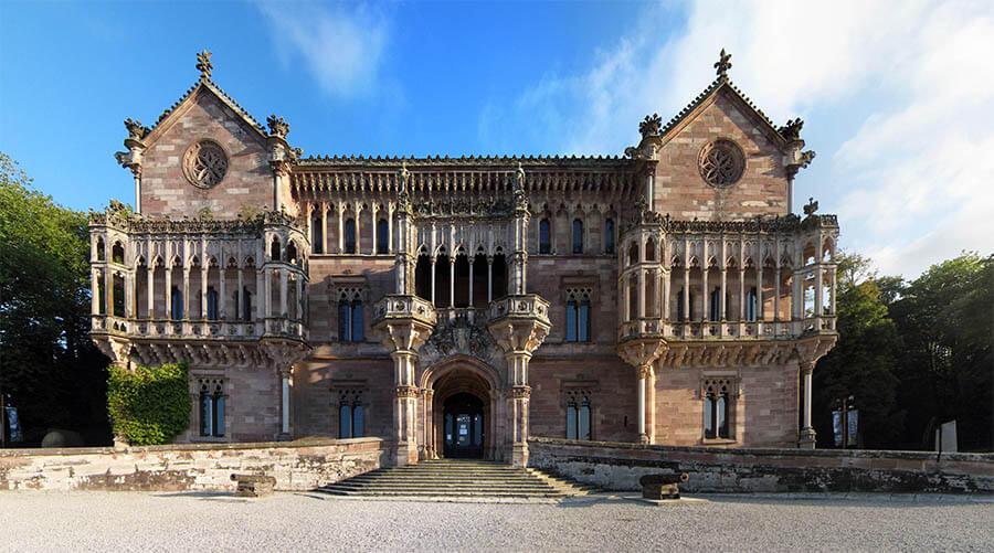 Comillas qué ver Cantabria Palacio de Sobrellano