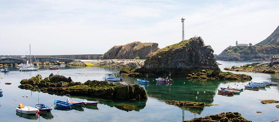 puerto de Cudillero Asturias