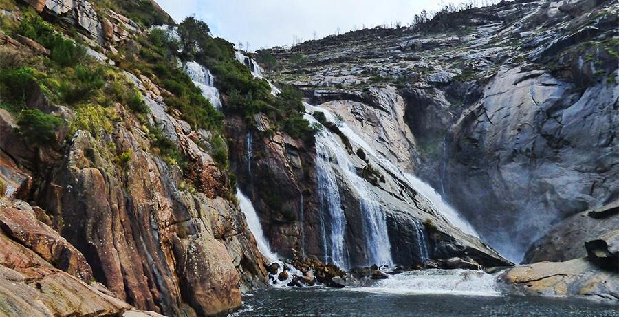 cascada de Ézaro Dumbría A Coruña
