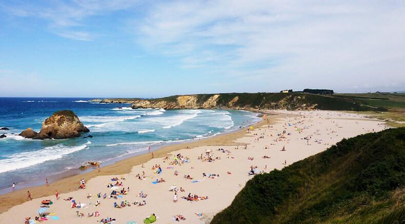 mejores playas de Asturias playa de Penarronda