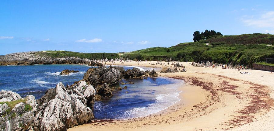 playa de Toró en Llanes
