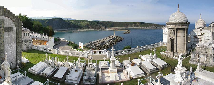 Luarca cementerio Asturias