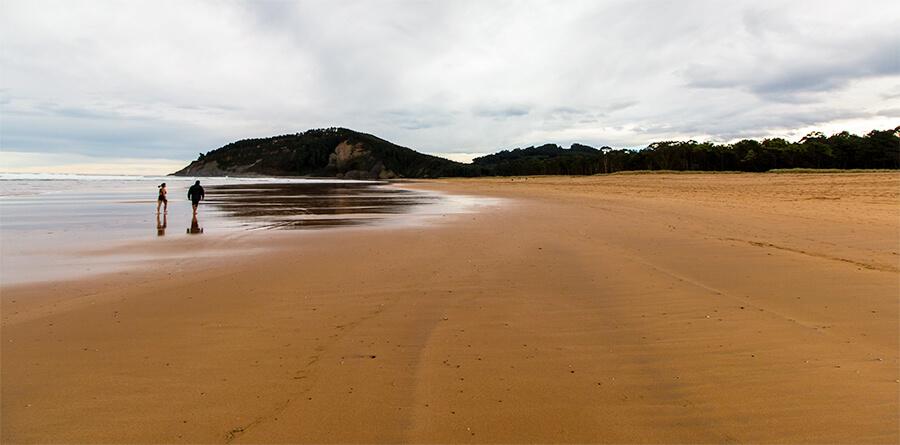 mejores playas de Asturias rodiles villaviciosa