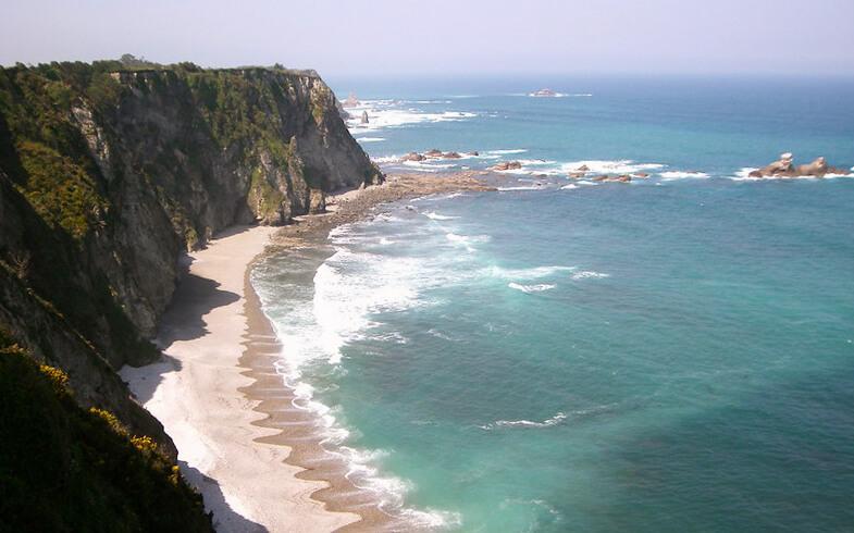 mejores playas de Asturias playa de Cadavedo