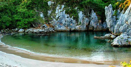 playa de Gulpiyuri Llanes