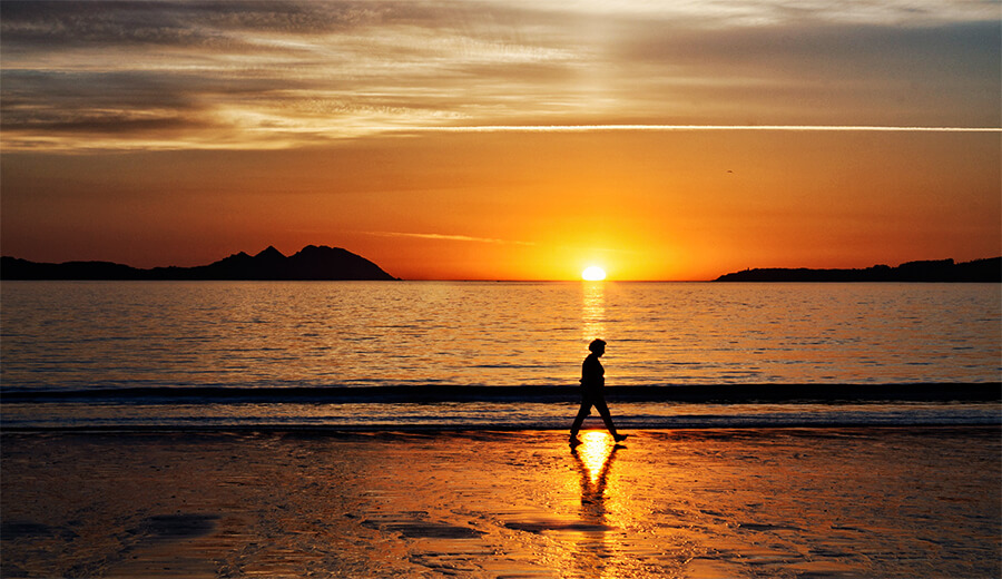 mejores playas de Pontevedra Samil Vigo