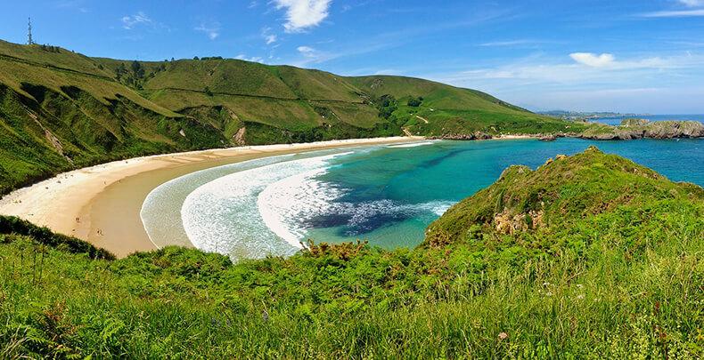 las mejores playas de asturias torimbiaanes