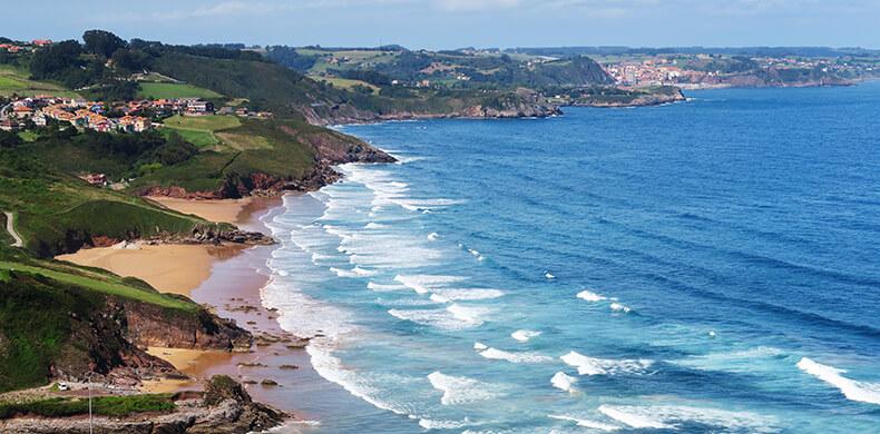 playas de Candás