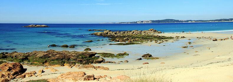 mejores playas de Pontevedra A Lanzada