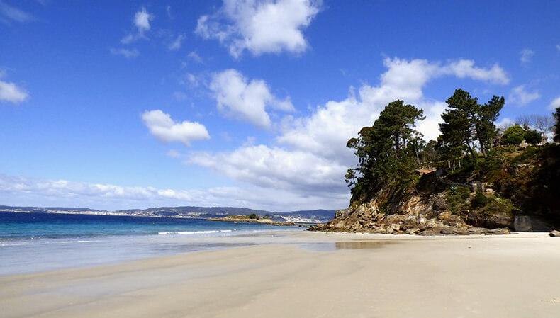 mejores playas de Pontevedra lapaman