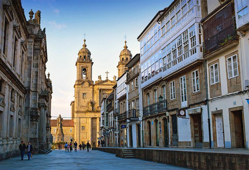 Santiago de Compostela - Camino de Santiago