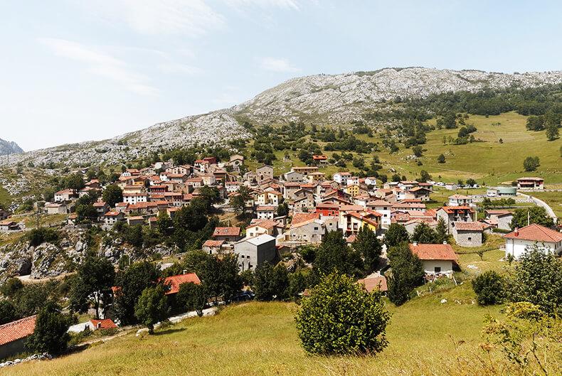 sotres Asturias