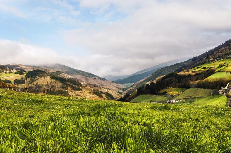vistas de Taramundi en Asturias
