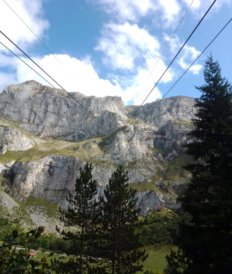 vistas teleférico de Fuente Dé