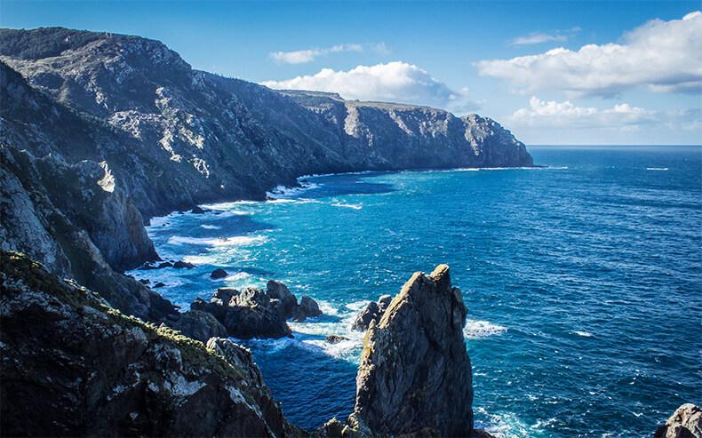 acantilados de Vixía Herbeira en A Coruña