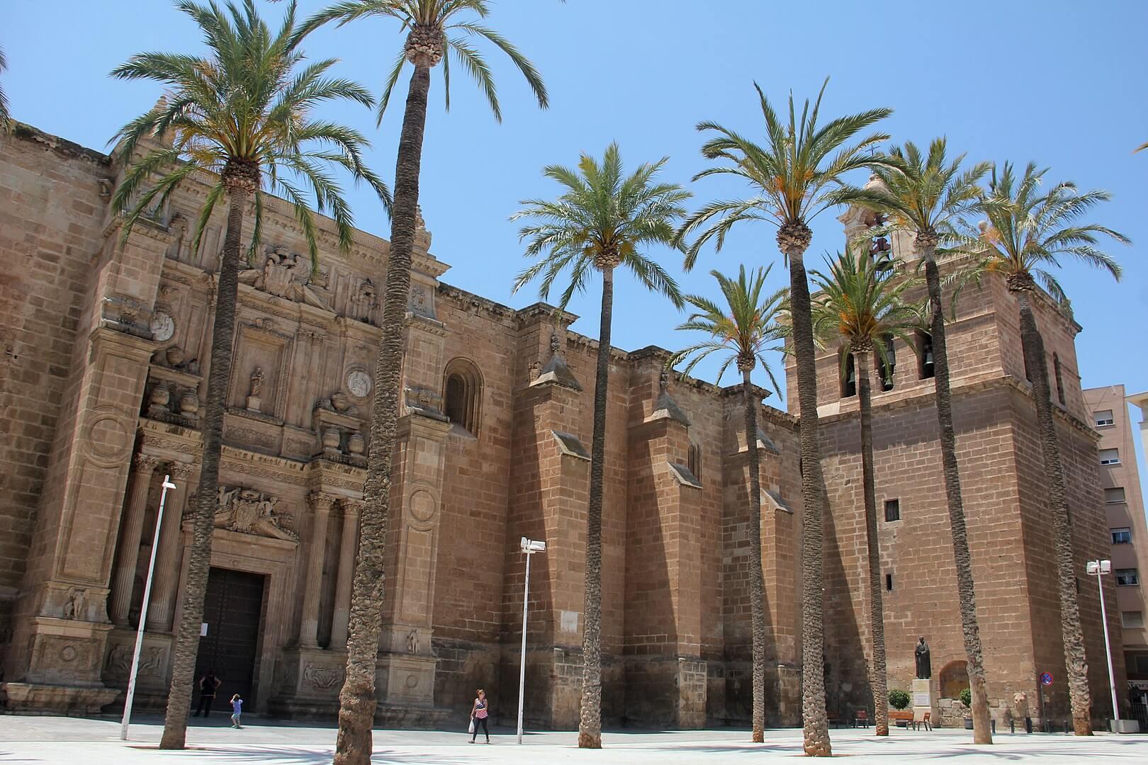 Catedral de Almeria Fachada