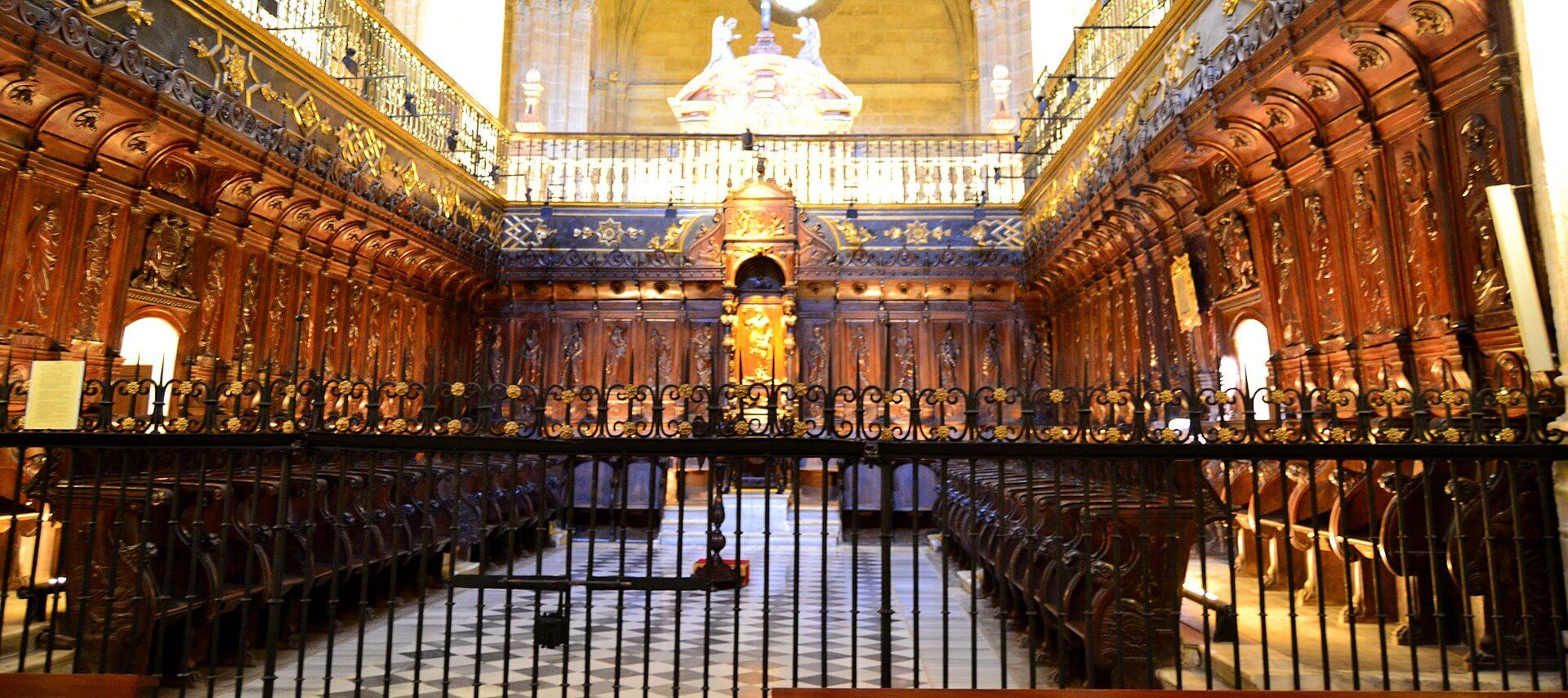 Catedral de Almeria Retablo interior