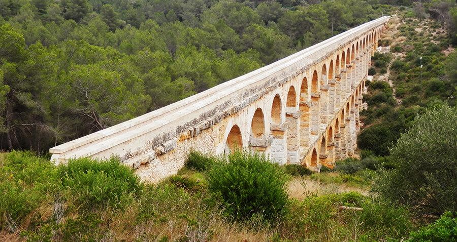 Pont del Diable en Tarragona