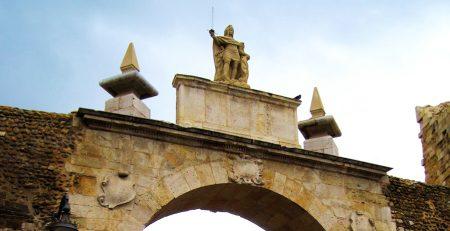 arco de la Cárcel murallas del León