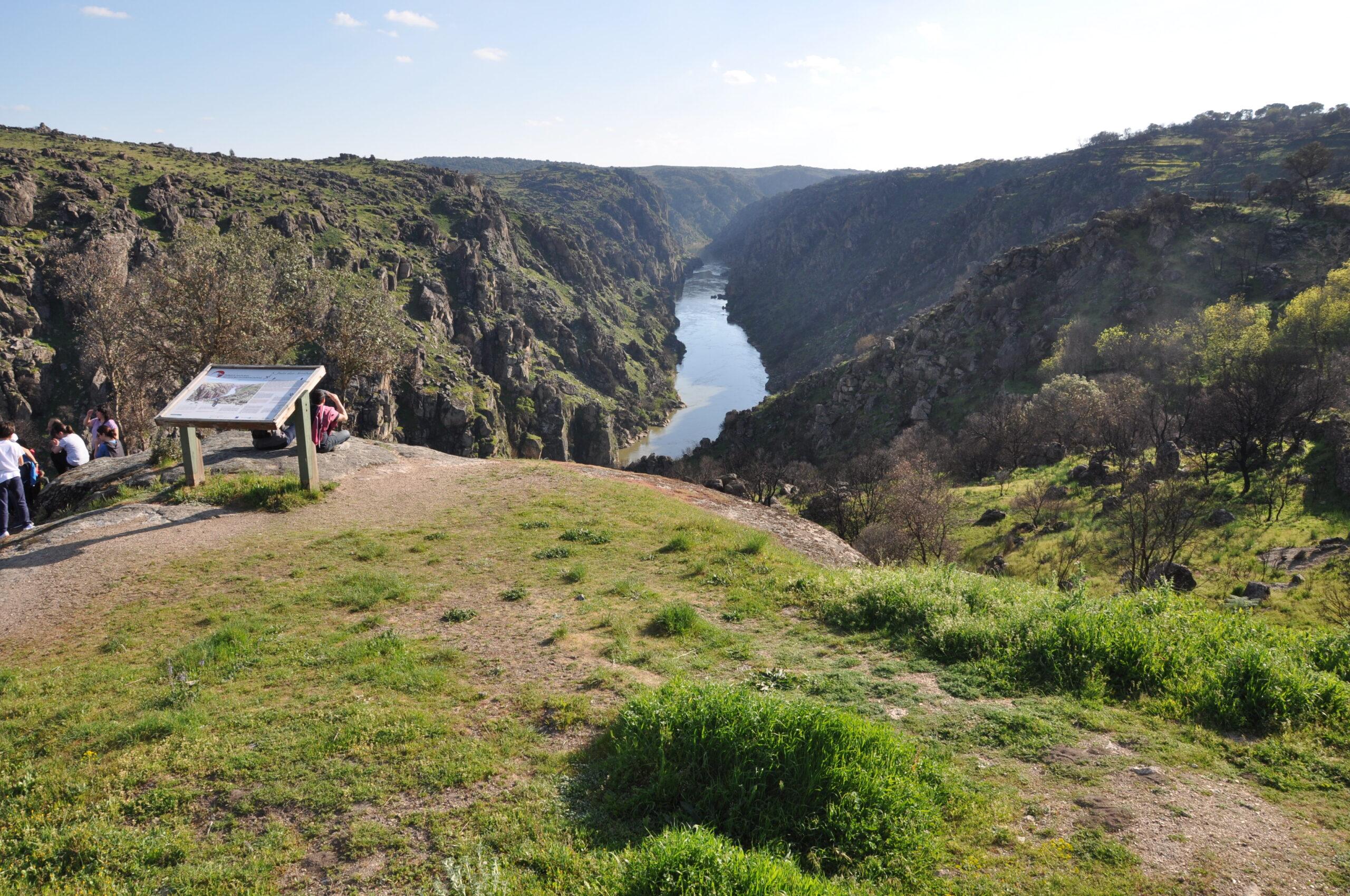 Mirador de São Joao das Arribas en Arribes del Duero