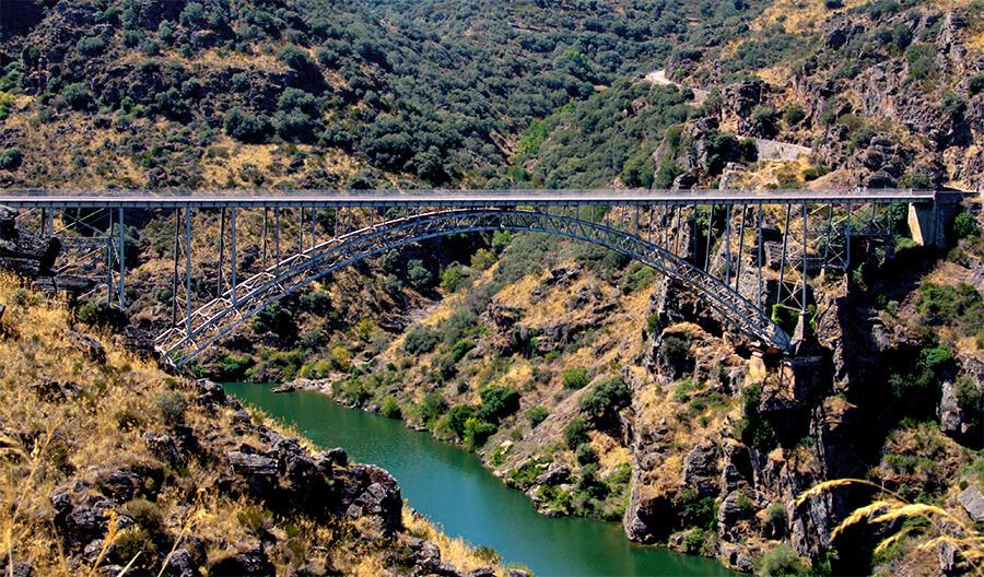 Puente de Requejo Qué ver en los Arribes del Duero