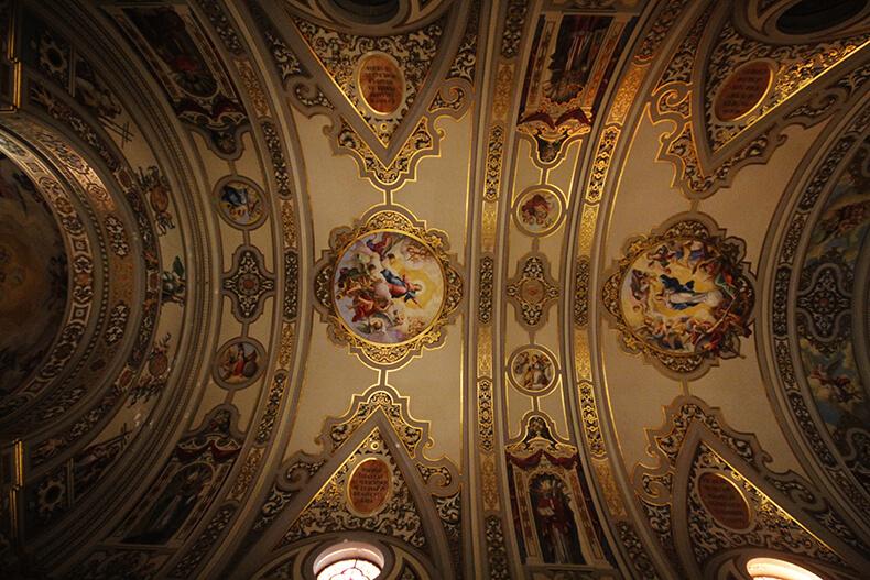 Basílica de la Macarena techo
