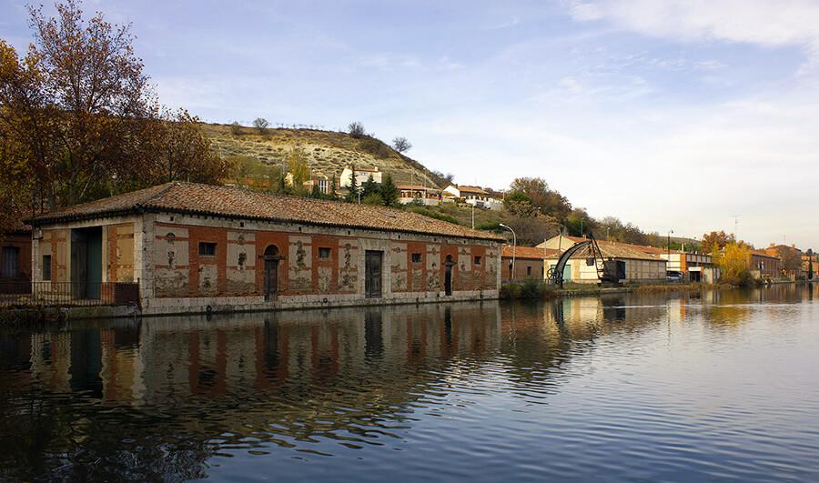 Canal de Castilla en Valladolid
