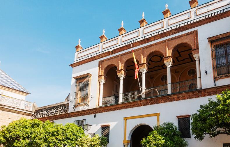 fachada de la casa de pilatos sevilla