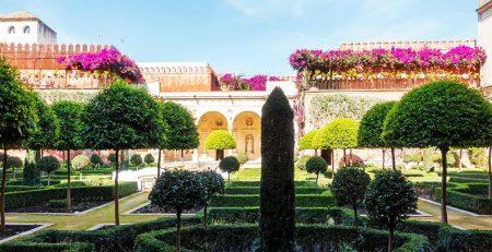 Casa de Pilatos Jardines en Sevilla