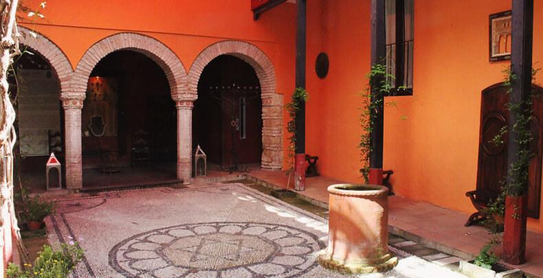 Casa de Sefarad patio interior