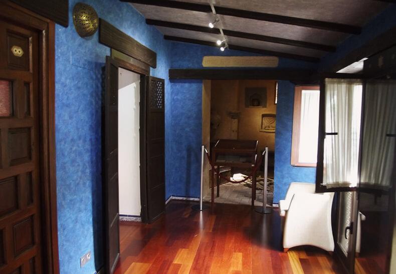 interior de la Casa de Sefarad Córdoba