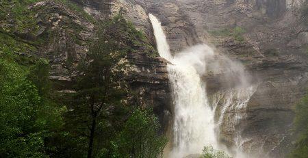 Cascada de Sorrosal que ver en Huesca