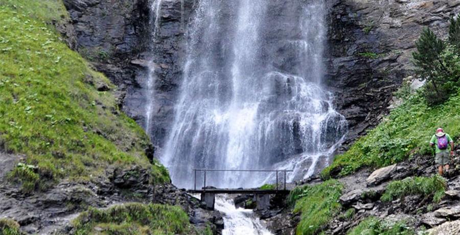 Cascada de Ardonés Cerler Huesca