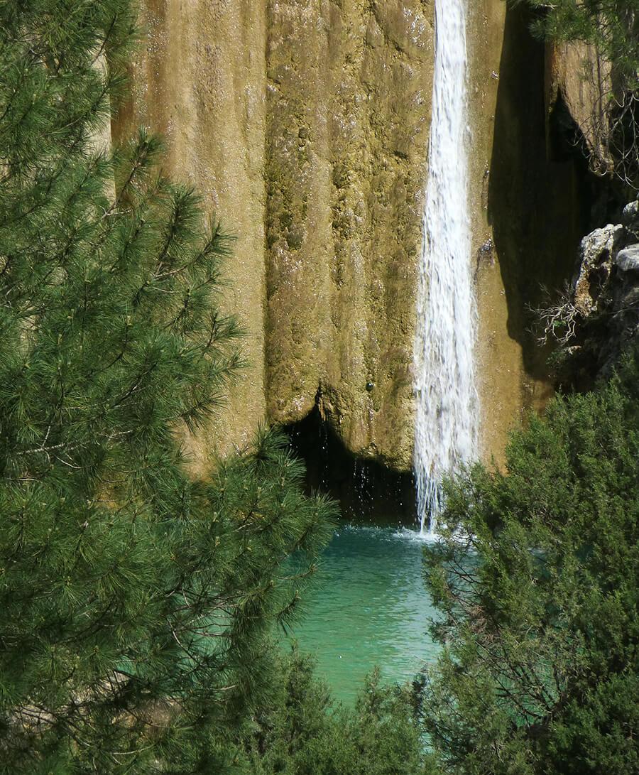 cascada de Linarejos Parque Natural de Cazorla