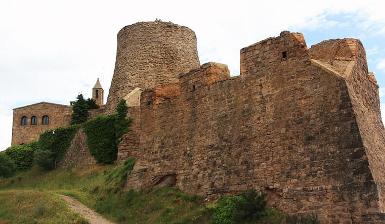 muralla castillo de Cardona