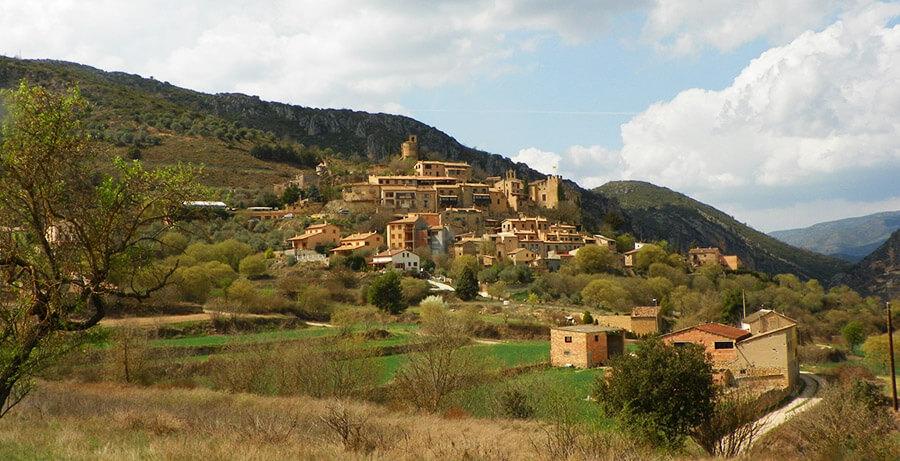 castillo de Montsonis que ver Lleida