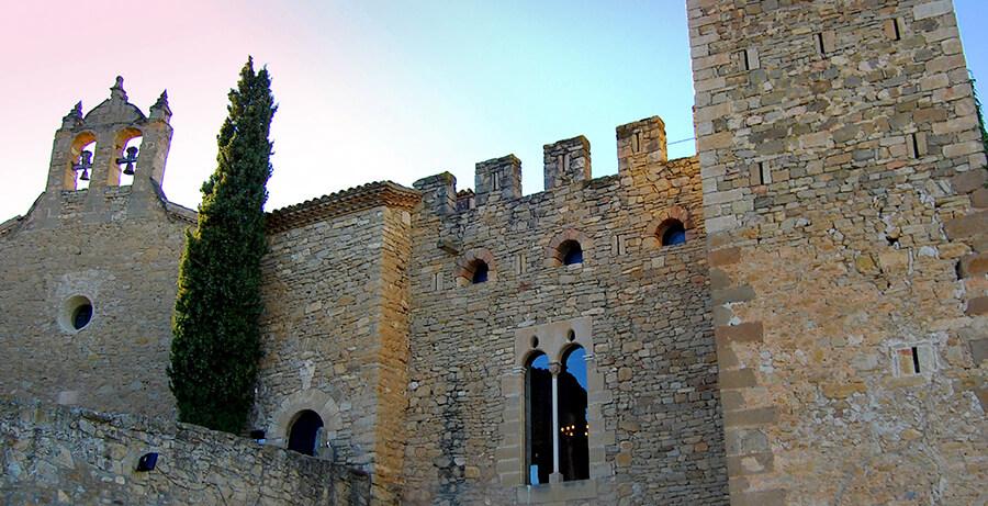 castillo de Montsonís en Lleida