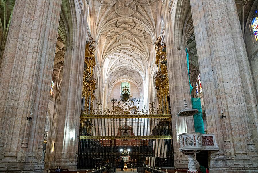 interior Catedral de Segovia