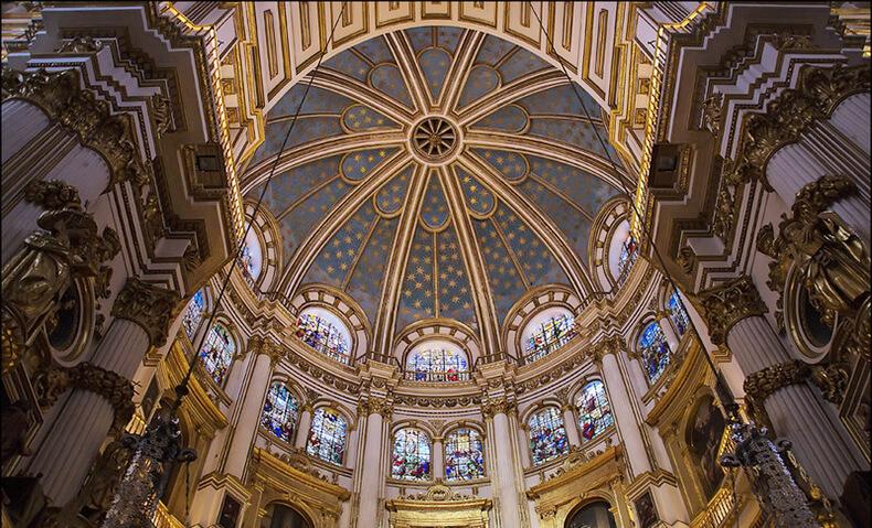catedral de Granada interior cúpula