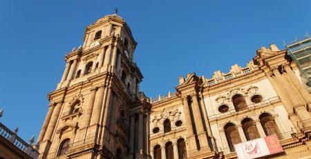 catedral de Málaga fachada