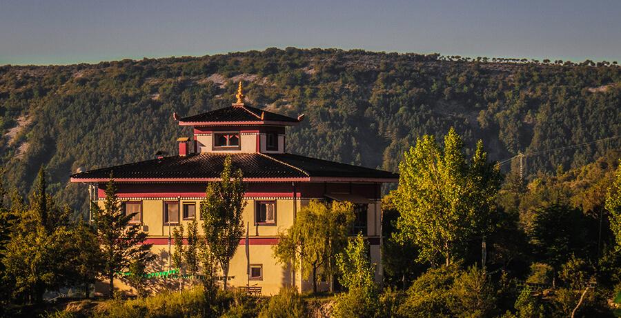 centro budismo Dag Shang Kagyü en Huesca