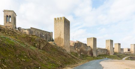 Cerco de Artajona en Navarra