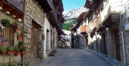 cuevas del valle en Ávila